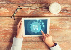 Clicking an e-commerce cart button
