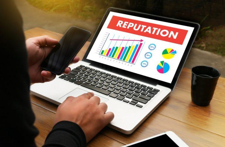 brand reputation chart