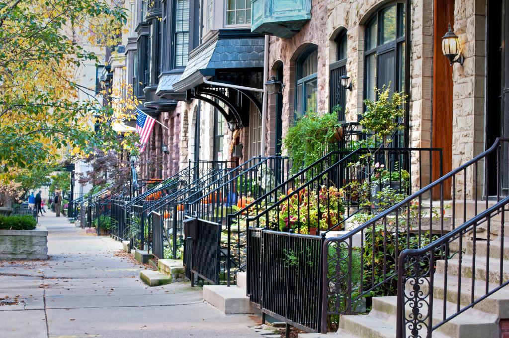 city neighborhood